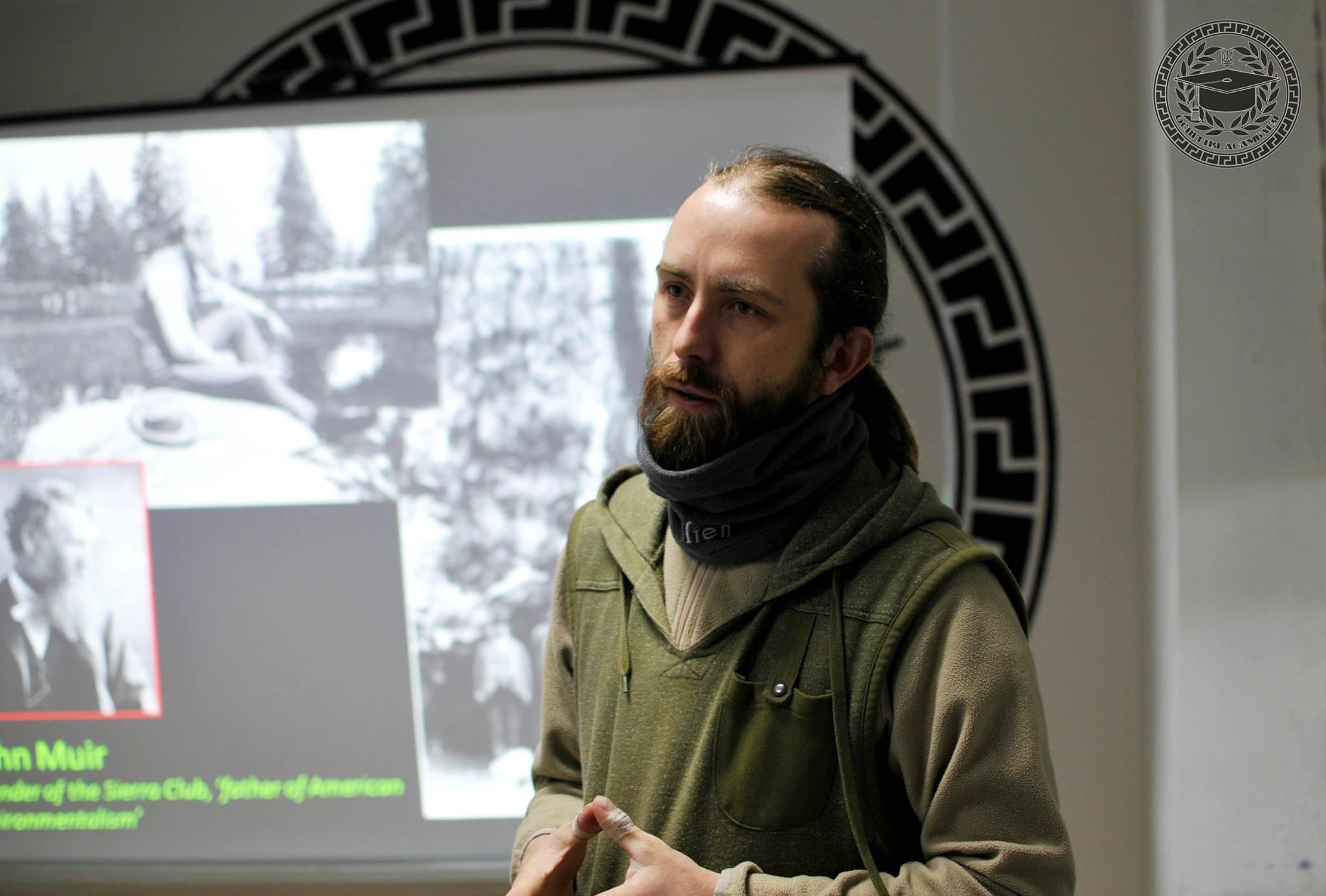 Олексій Василюк (Фото надане Олексієм. Джерело: Українська правда)